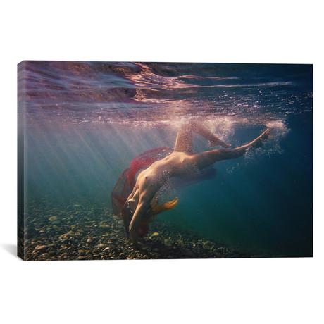 "Dives In Beams // Dmitry Laudin (18""W x 12""H x 0.75""D)"