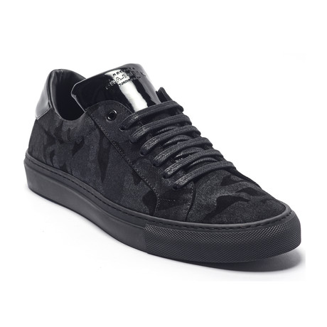 George Low Top Sneaker // Black Camo (Euro: 40)