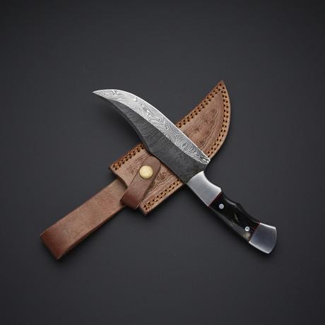 Damascus Skinner Knife // 44