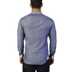 Einstein Path Dress Shirt // Blue (L)