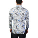 Fibonacci Earth Dress Shirt // Multicolor (3XL)