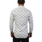 Einstein Pyramid Dress Shirt // White (L)