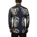 Fibonacci Lion EDC Dress Shirt // Multicolor (S)
