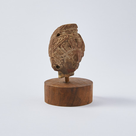 Roman-Egyptian Terracotta Woman's Head