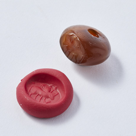 Persian Carnelian Stamp Seal