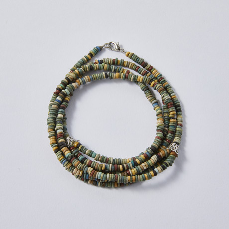 Ancient Egyptian Bead Necklace // c. 664-332 BC