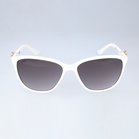 Love Moschino // Women's MO65003S 03S Sunglasses // White