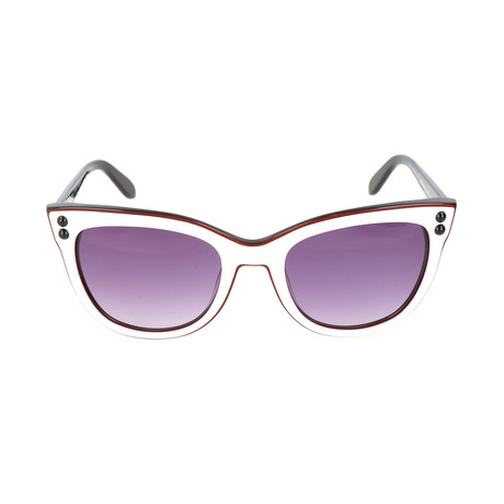 Love Moschino // Women's MO72302SA 02SA Sunglasses // White