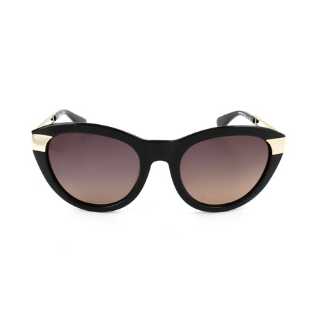 M Missoni // Women's MM572 S05SA Sunglasses // Black + Gold