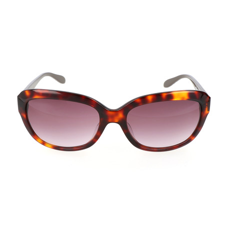 Love Moschino // Women's MO77802 2 Sunglasses // Tortoise + Pink