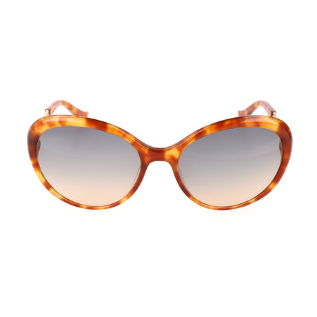 Love Moschino // Women's MO765 2 Sunglasses // Tortoise + Gold