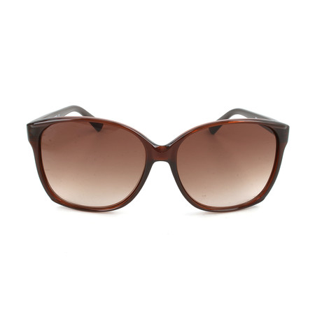 M Missoni // Women's MM511 02S Sunglasses // Tortoise + Green