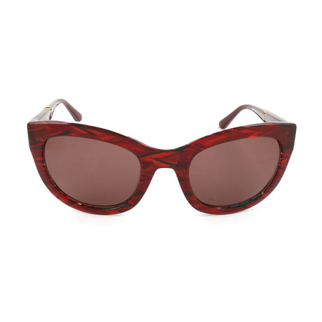 M Missoni // Women's MM542 02SA Sunglasses // Red