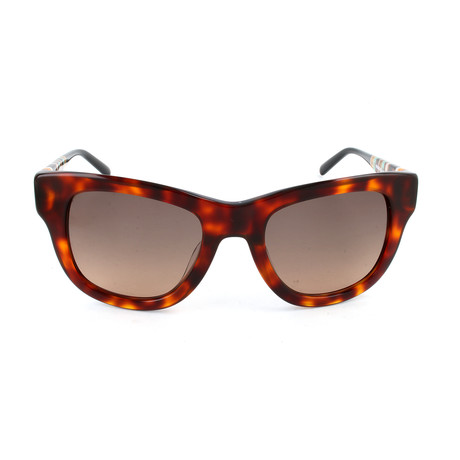 M Missoni // Women's MM660 S04SA Sunglasses // Brown