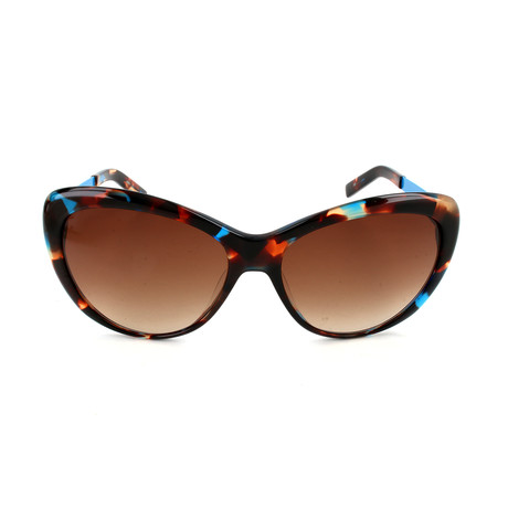 M Missoni // Women's MM654 S03SA Sunglasses // Brown