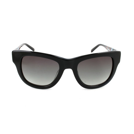 M Missoni // Women's MM660 S01SA Sunglasses // Black + White