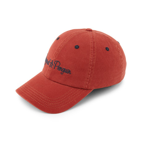 Unstructured Twill Dad Cap // Red Clay