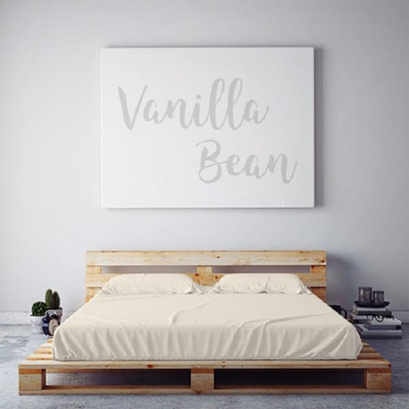Moisture Wicking 1500 TC Soft Sheet Set // Vanilla Bean (Full)