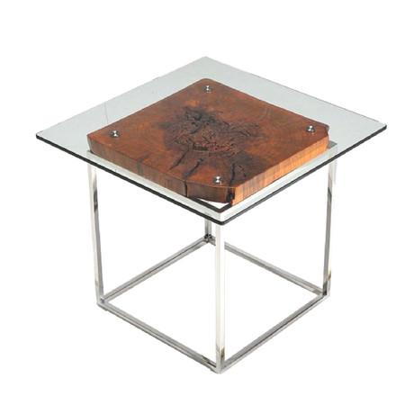 Modrest Renton Tree Root End Table
