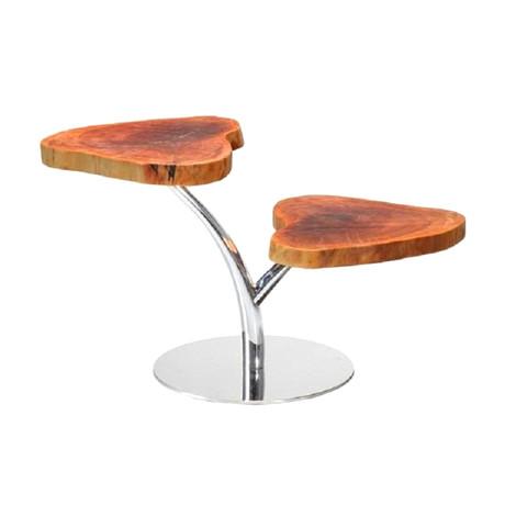 Modrest Sequim Live Edge Wood End Table