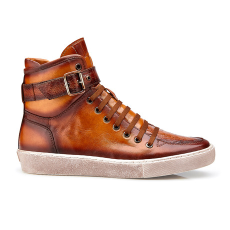 Taylor High Tops // Antique Almond + Safari (US: 8)