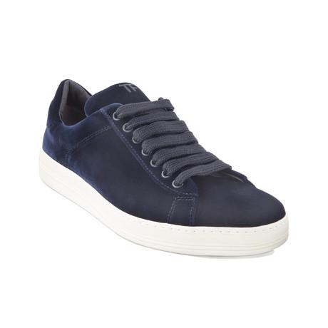 Men's Velvet Sneakers // Blue (US: 7)