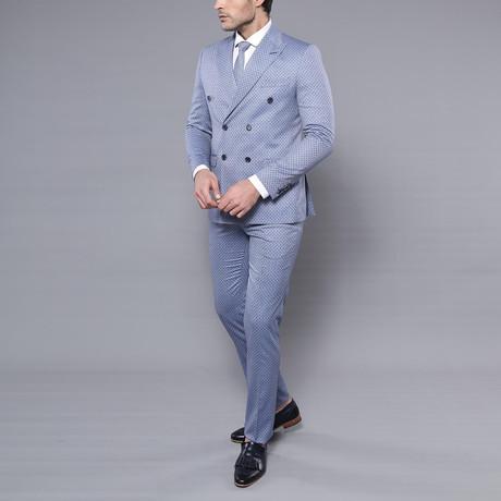 Harold 2-Piece Slim-Fit Suit // Light Blue (Euro: 44)
