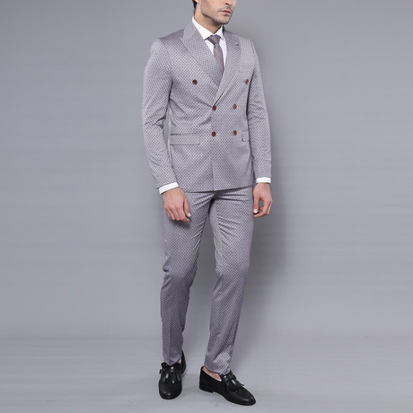 Harold 2-Piece Slim-Fit Suit // Gray (Euro: 44)