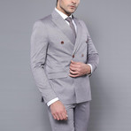 Harold 2-Piece Slim-Fit Suit // Gray (Euro: 52)