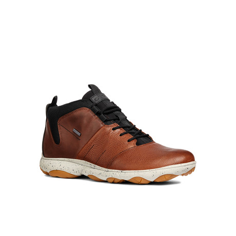Nebula A High Top Sneaker // Brown Cotto + Cognac (Euro: 39)