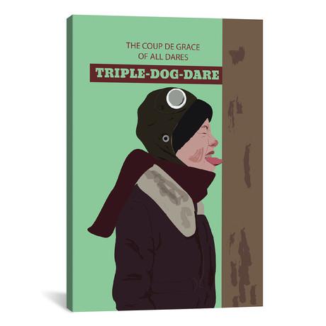 """Triple Dog Dare (18""""W x 26""""H x 0.75""""D)"""