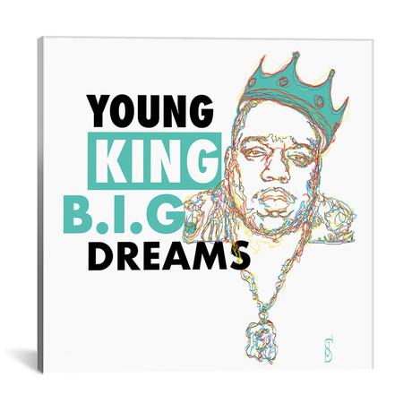 """B.I.G. Dreams (18""""W x 18""""H x 0.75""""D)"""