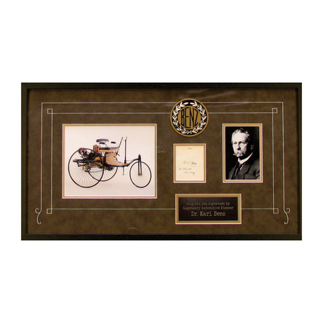Dr Carl Benz Mercedes
