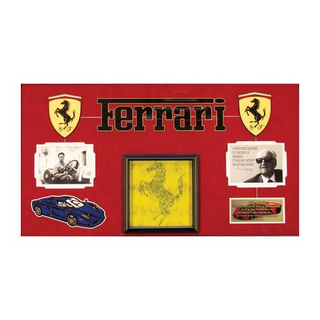 Ferrari Tile - Museum Quality