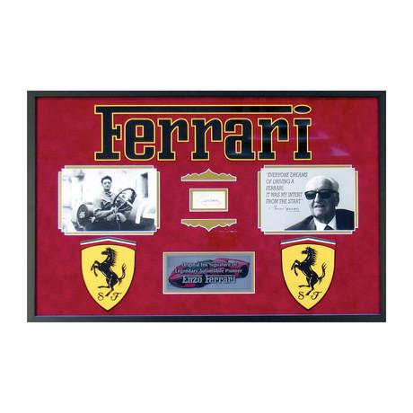 Enzo Ferrari Signature