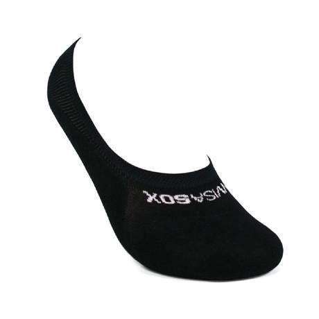 Men's No Show Socks // Black // 6-Pair Bundle (Small)