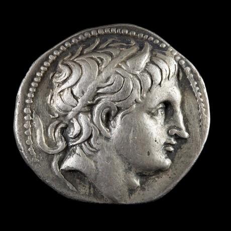 Demetrius Poliorcetes Silver Tetradrachm // Seleucid Kingdom Ca. 306–283 BCE