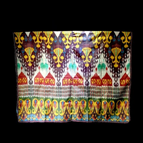 Silk Ikat Parda // Uzbekistan Circa 19th-20th Century CE