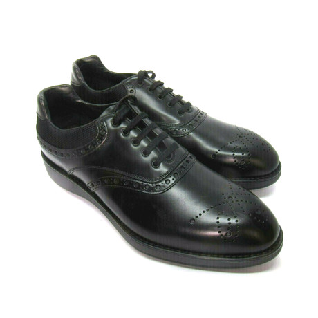 Leather Oxford Shoes // Black (US: 7)