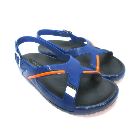 Rubber Sandals // Blue (US: 7)