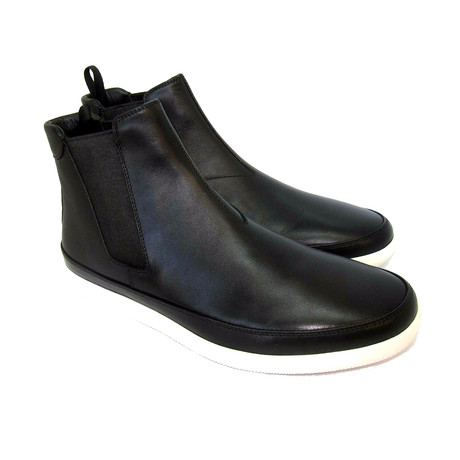 Leather Elastic Boots // Black (US: 7)