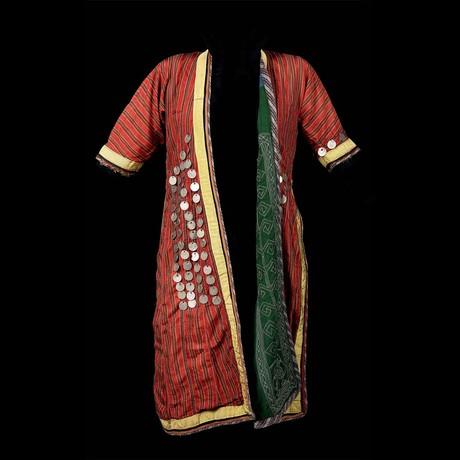 Ceremonial Khalat/Caftan Tunic // Turkmenistan Ca. 19 Century CE