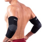 Bamboo Elbow Support // Pack of 2 // Black (XX-Large)