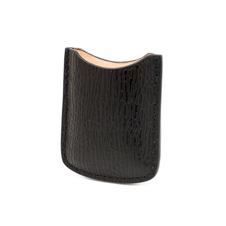 Genuine Shark Skin // Lighter Case // Black
