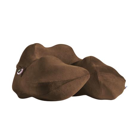 Neck Sofa® Pillow // Chocolate Brown