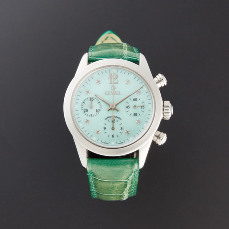 Gevril Lafayette Chronograph Automatic // 2908 // Pre-Owned