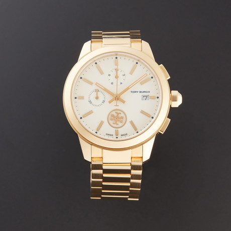Tory Burch Colins Chronograph Quartz // TB1250 // Pre-Owned