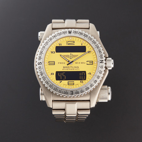 Breitling Emergency Quartz // E56121.1 // Pre-Owned