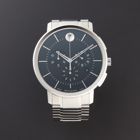 Movado Ultra Thin Chronograph Quartz // 606886 // Pre-Owned