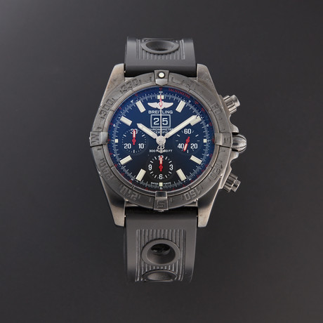 Breitling Blackbird Chronograph Automatic // M44359 // Pre-Owned